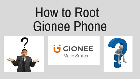 how to root gionee