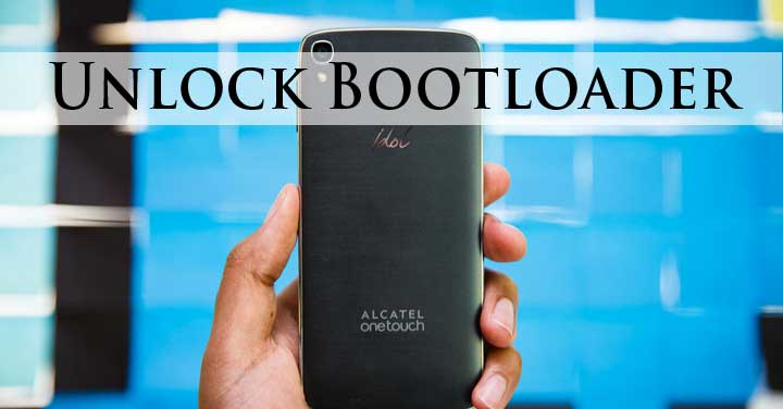 Unlock Alcatel Bootloader