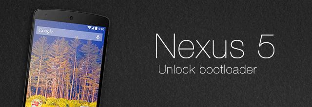 Unlock Nexus Bootloader